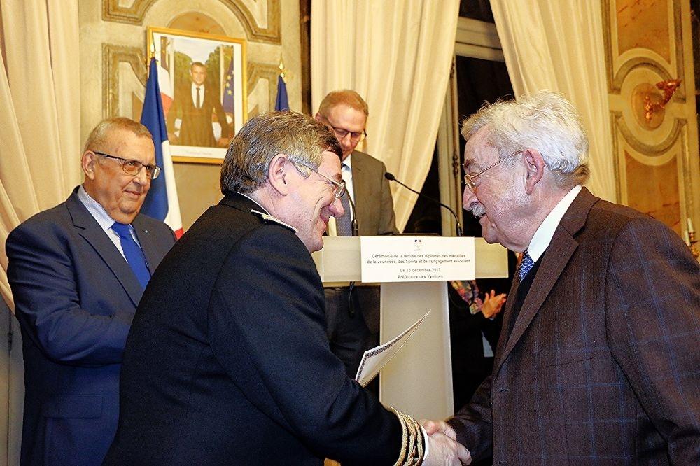 Gérard PENNING reçu en Préfecture des Yvelines