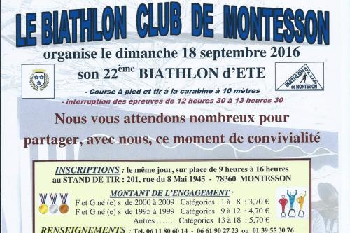 22ème BIATHLON D'ETE